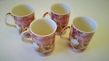 Royal Albert Old Country Roses Afternoon Tea  Mugs Philippa Mitchell Design Set4