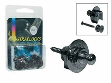 Straplocks Boston  Sicherheits Gurthalterung / black-chrom