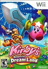 Kirby's Return to Dream Land, Very Good Nintendo Wii, Nintendo Wii Video Games