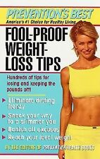 Fool-Proof-Weight-Loss Tips, The Editors of Prevention Health Books, Good Book