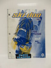 OEM Ski-Doo Shop Manual Vol 2 Mach Z Sport Tech Plus 484200034 BRP