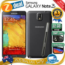 SAMSUNG GALAXY NOTE 3 N9005 4G LTE 32GB UNLOCKED PHONE BLACK  (NEW SEALED BOX)
