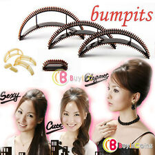 Set Of 5 Bumpits Hair Volumizing Puff Maker Party Hairdos Women Hair Style Maker