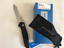 ~NEW~ BENCHMADE 940-2 OSBORNE G10 HANDLE SATIN PLAIN EDGE CPM-S30V FOLDING KNIFE