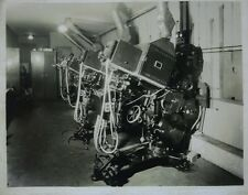 Vintage Super Simplex 35mm movie projector photo Kiel Opera House St. Louis MO