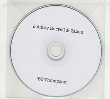 (GX582) Johnny Borrell & Zazou, 60 Thompson - DJ CD