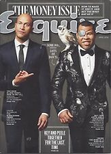 Esquire magazine - April 2016- Key & Peele, Jessica Jones, Pee Wee Herman, more