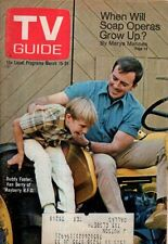 1969 TV Guide March 15 - Ken Berry - Mayberry RFD; James MacArthur Hawaii Five-O