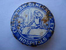 SCARCE C1920S VINTAGE CHELTENHAM GENERAL EYE HOSPITAL TIN PIN BADGE