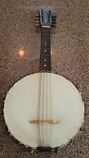 Antique Mandolin Banjo Stella? Sovereign? 1920's? 8 string fair semi-restored