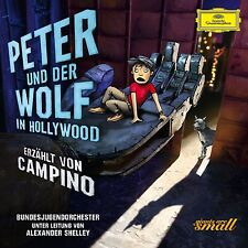 PETER UND DER WOLF IN HOLLYWOOD  CD NEU PROKOFIEFF,SERGEJ