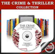 The Crime and Thriller eBook Collection 6000 for Kindle Kobo eReader DVD