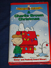 A Charlie Brown Christmas (VHS, 1999, Clamshell Case) NEW & SEALED!