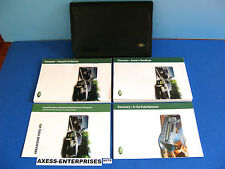 03 - 2003 Land Rover Discovery Owners Manuals Operators Books Pouch Set # H179