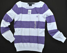 POLO RALPH LAUREN COTTON WOMEN LADIES SWEATER JUMPER BUSINESS PULLOVER XS M L