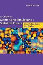 Una guía para las simulaciones de Monte Carlo en física estadística, Landau, David P.