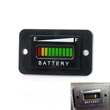 LED Battery Indicator Gauge For Golf Cart Boat Motorbike 48V Lead Acid Battery