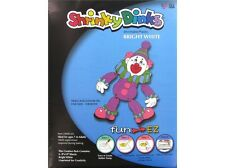 "Shrinky Dink Bright White 8""x10"" Shrinkable Plastic 6 Sheets"