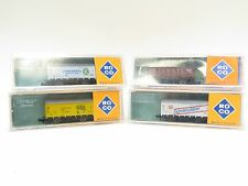 ROCO N GAUGE 2310-2321B-2321C-2321D SELECTION OF WAGONS X4 (A4)