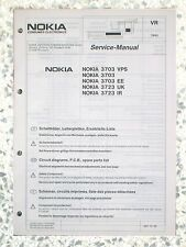 Service manual for Nokia 3703 and 3723 - 6611 75 30