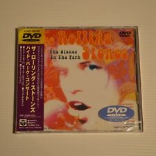 ROLLING STONES - The STONES in the park - 2000 JAPAN DVD