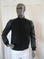 NIKE BASKETBALL LEATHER DESTROYER JACKET BLACK SZ L [500087-010]