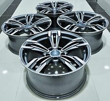 "20"" NEW BMW M6 STYLE STAGGERED WHEELS RIMS FITS 3 4 5 6 SERIES X3 X4 CTS 5456"