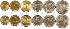 ZAIRE 6 COINS SET 1976-1988 UNC (#597)