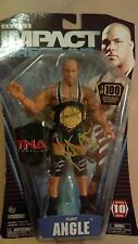 TNA WWE signed Kurt Angle deluxe series 10 figure 1/100 chase rare hall of fame