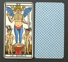 Antique BP Grimaud Paris Tarot de Marseille Cards Deck 1930's