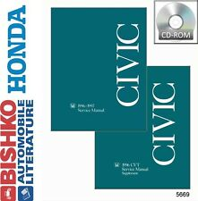 1996 1997 Honda Civic Shop Service Repair Manual CD Engine Drivetrain Electrical