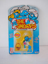 The Smurfs I'm Smurfette With Flower Basket From Irwin & Toy Island 1996 t279
