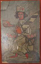 ANTIQUE GERMAN OR GERMAN AMERICAN EXPRESSIONISM DADA DEGENERATE FINE ART COLLAGE