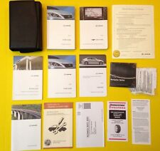 2009 LEXUS IS IS250 IS350 OWNERS MANUAL + NAVIGATION BOOK SUPER COMPLETE SET!!!!