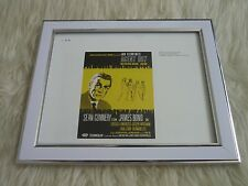 James bond 007 Rare collection Movie posters tony nourman Framed agent drab