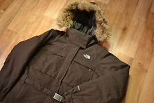 GENUINE Womens THE NORTH FACE HyVent Waterproof DOWN Hooded Belted Jacket size M