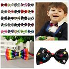 Adjustable Boys Kid Baby Party Elastic Pre-tied Wedding Bow Tie Necktie Bowties
