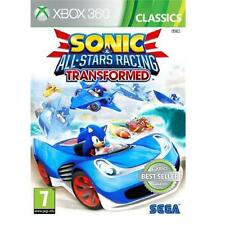 Sonic & All Stars Racing Transformed Enfants Jeux De Voiture For Xbox 360