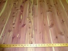 "Aromatic Cedar wood veneer in 24"" x 48"" sheets on paper backer 1/40th"" ""A"" grade"