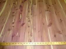 "Aromatic Cedar wood veneer in 48"" x 96"" sheets on paper backer 1/40th"" ""A"" grade"