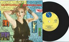 "Madonna:Borderline/Physical attraction: 7"" Vinyl Single:UK Hit"