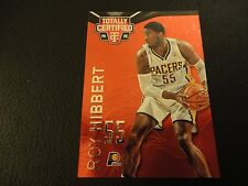 2014-15 Totally Certified Roy Hibbert Mirror Red 34/279 Indiana Pacers