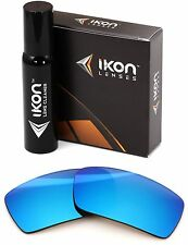Polarized IKON Iridium Replacement Lenses For Oakley Gascan S SMALL Ice Blue