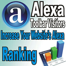 5000 Alexa Toolbar Visitors! BOOST your website Alexa ranking! 100% Adsense Safe