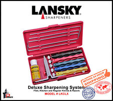 Lansky Deluxe Five-Stone Sharpening System Extra Coarse- Ultra Fine Grit LKCLX