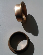 1 X FLANGED BUSH BEARING 28.5 X 31.9 X 13.2 X 38 MM SINTERED BRONZE
