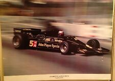 Andretti Lotus JPS 78 Long Beach 1978. Impossible to Find!I Car Poster!!