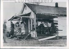 1953 Gaping Hole in Holiness Church Truck Went Through Crump TN Press Photo