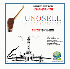 UNOSELL:: STRING SET FOR PERSIAN  STRING INSTRUMENT SETAR  NEW  !!!!!!!!!!!!!!