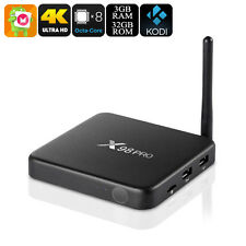X98 Pro, Android 6.0 TV Box Internet Media Streamer Player, 3GB RAM, 4K, Kodi